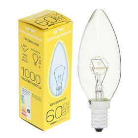 """Лампа накаливания """"Старт"""", ДС, Е14, 60 Вт, 230 В"""