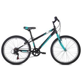 """Велосипед 24"""" Foxx Mango, цвет черный, размер 14"""""""