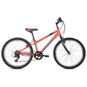"""Велосипед 24"""" Foxx Mango, цвет оранжевый, размер 14"""""""