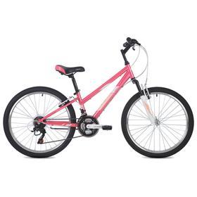 """Велосипед 24"""" Foxx Salsa, цвет розовый, размер 12"""""""