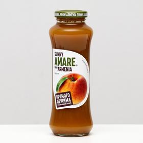 Персиковый сок прямого отжима SUNNY AMARE, без сахара, 250 мл