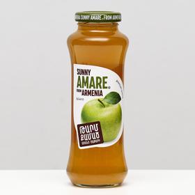 Яблочный сок прямого отжима SUNNY AMARE, без сахара, 250 мл