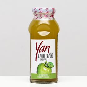 Нектар из зелёного яблока YAN, 250 мл