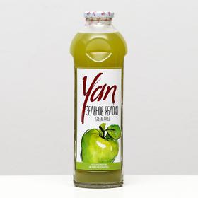Нектар из зелёного яблока YAN, 930 мл