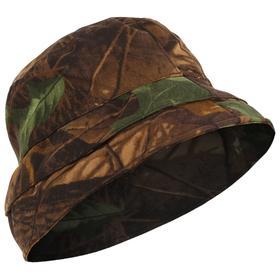 Панама-накомарник «Трансформер», цвет светлый лес, ткань смесовая, размер 60