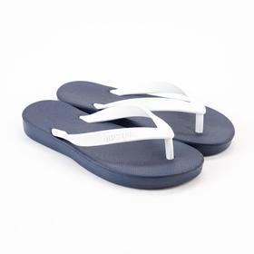 Baby slates, color dark blue / white, size 32