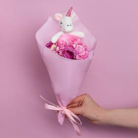 Bouquet with a toy