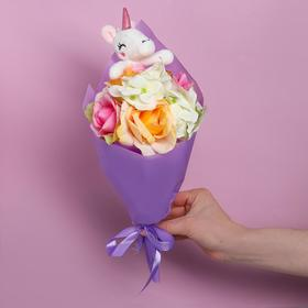 Bouquet with toy