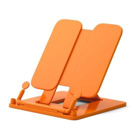 "Подставка для книг пластик ErichKrause ""Neon Solid"" оранжевая 53530"