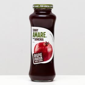 Гранатовый сок прямого отжима SUNNY AMARE без сахара, 250 мл