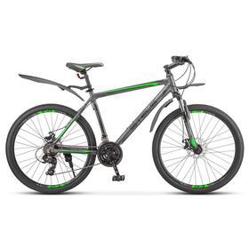 "Велосипед 26"" Stels Navigator-620 MD, V010, цвет антрацитовый, размер 14"""