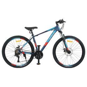 """Велосипед 27,5"""" Stels Navigator-720 MD, V010, цвет тёмно-синий, размер 19"""""""