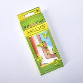 """Липкая лента от мух и фруктовых мошек """"Клеелов"""", 3 шт"""