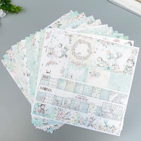 """Набор бумаги для скрапбукинга """"Детские мечты"""" 12 листов, 30,5х30,5 см"""