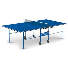 Стол теннисный Start line Olympic Optima BLUE с сеткой