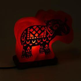 """Солевая лампа Wonder Life """"Слон"""", 15 Вт, гималайская соль, от сети"""