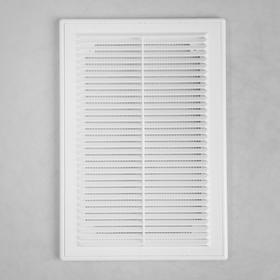 Решетка вентиляционная VENTSFERA РВРс, 206 х 300 мм, разъемная, с сеткой