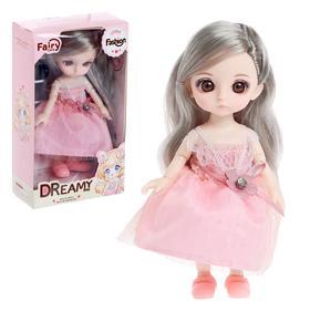 Кукла модная шарнирная «София», в платье