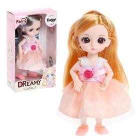 Кукла модная шарнирная «София» в платье, МИКС
