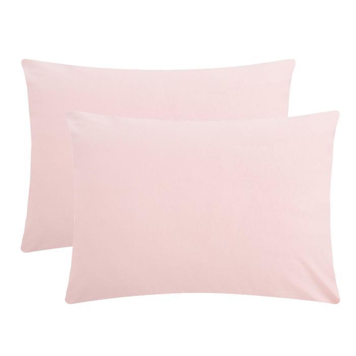 """Комплект наволочек """"Этель"""", 50х70 см - 2 шт, розовый - фото 890389"""