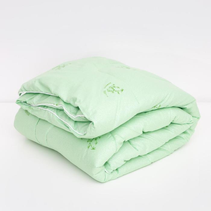 Одеяло LoveLife 140*205 см Бамбук, глосс-сатин, п/э 100%, 450 гр/м2 - фото 890440