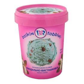 Мороженое Baskin robbins миндально-фисташковое, 1 л