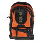 Рюкзак молодёжный Sport, трансформер, 1 отдел, 2 наружных и 2 боковых кармана, цвет чёрно-оранжевый