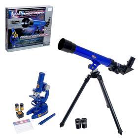 Набор телескоп и микроскоп «Юный исследователь»
