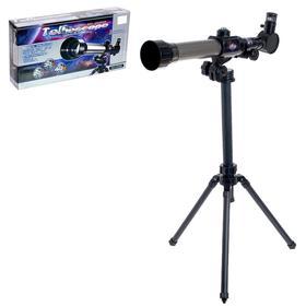 Телескоп детский «Юный астроном», штатив