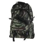 """Рюкзак туристический """"Милитари"""" трансформер, 1 отдел, 2 наружных, 2 боковых кармана, хаки"""