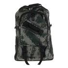 """Рюкзак туристический """"Пиксель"""" трансформер, 1 отдел, 2 наружных, 2 боковых кармана, цвет хаки"""