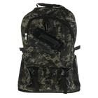 """Рюкзак туристический """"Пиксель"""" трансформер, 1 отдел, 2 наружных, 2 боковых кармана, хаки"""