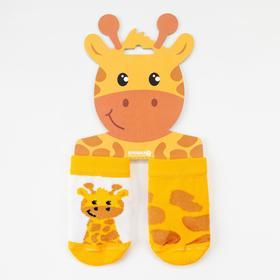 Набор носков Крошка Я «Жираф», 2 пары, 10-12