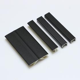 Комплект заглушек (торцевая - 2 шт., соединительная - 1 шт., мультиугол - 1 шт.), черные