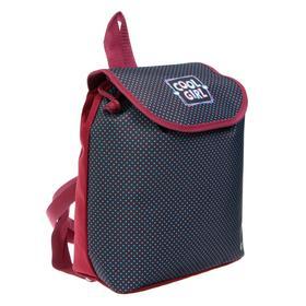 Рюкзак детский, «Оникс», СР-01 29х22х13,5 см, «Горошины»