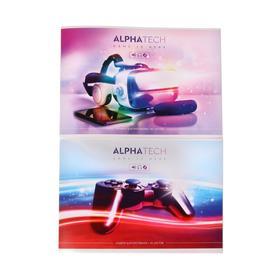 """Альбом для рисования А4, 40 листов на скрепке """"Увлечения"""", обложка мелованный картон, блок 100 г/м2, МИКС"""
