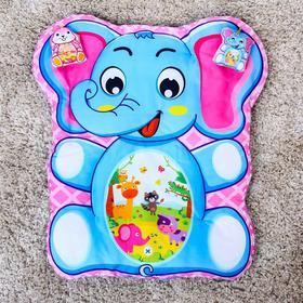 Развивающий коврик детский «Малыши», 2 игрушки, виды МИКС