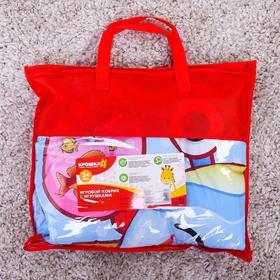 Развивающий коврик детский «Подводные малыши», 2 игрушки, виды МИКС