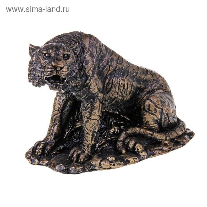 """Статуэтка """"Тигр"""" бронза"""