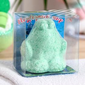 Шипучее средство для ванн «Подводный мир», лягушка, 60 г