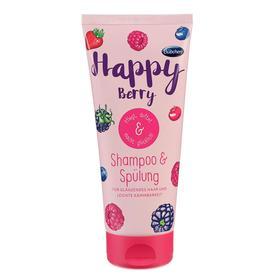 Детский шампунь и ополаскиватель для волос Bubchen «Счастливая ягодка», 200 мл