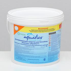 Дезинфицирующее ср-во медленный стабилизированный Хлор компл. действия таблетка (200 г) 3 кг