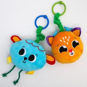 Развивающая игрушка - подвеска «Малыши», музыкальная, виды МИКС