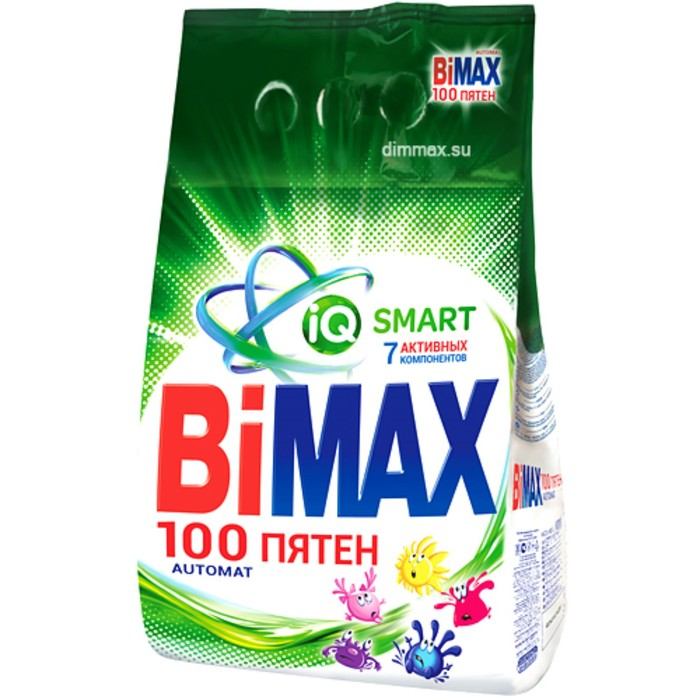 """Порошок стиральный BiMax """"Автомат 100 пятен"""", 3000 г"""