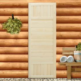 """Дверь для бани сорт """"ЭКСТРА"""" 180х70 см"""
