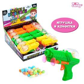 Игрушка с конфетками «Пистолет», МИКС