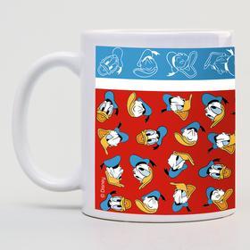 """Кружка сублимация""""Donald"""", Микки  Маус и его друзья, 350 мл."""