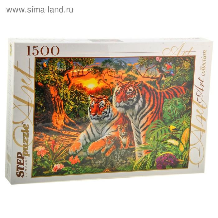 """Пазлы """"Сколько тигров?"""" 1500 элементов"""