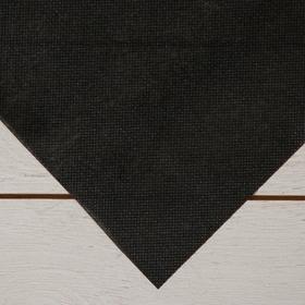 Материал для ландшафтных работ, 1,6 × 25 м, плотность 100 г/м², чёрный