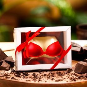 Фигура из белого шоколада «Бюст», 74 г